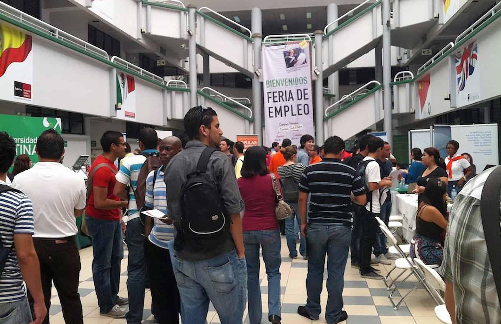 Job fair at Universidad Latina de Costa Rica