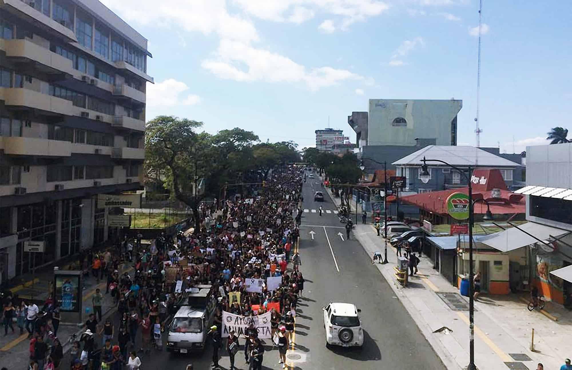 Animal welfare advocates march on Feb. 1, 2015