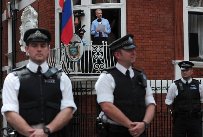 WikiLeaks founder Julian Assange in 2012