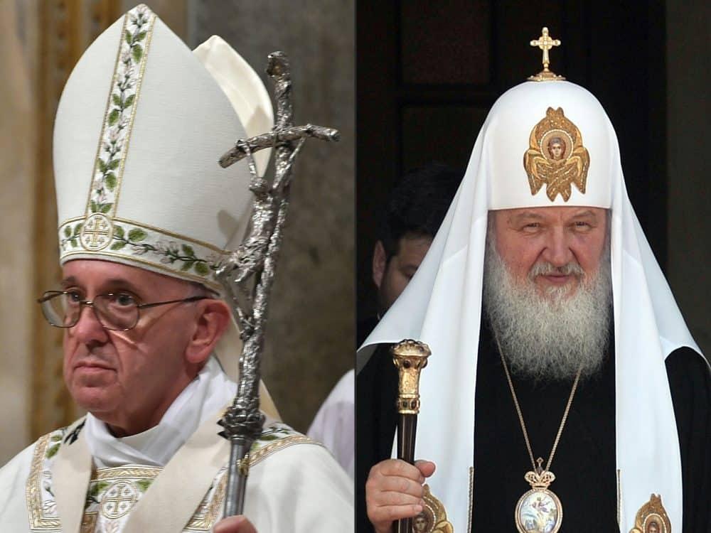Pope Francis; Patriarch Kirill