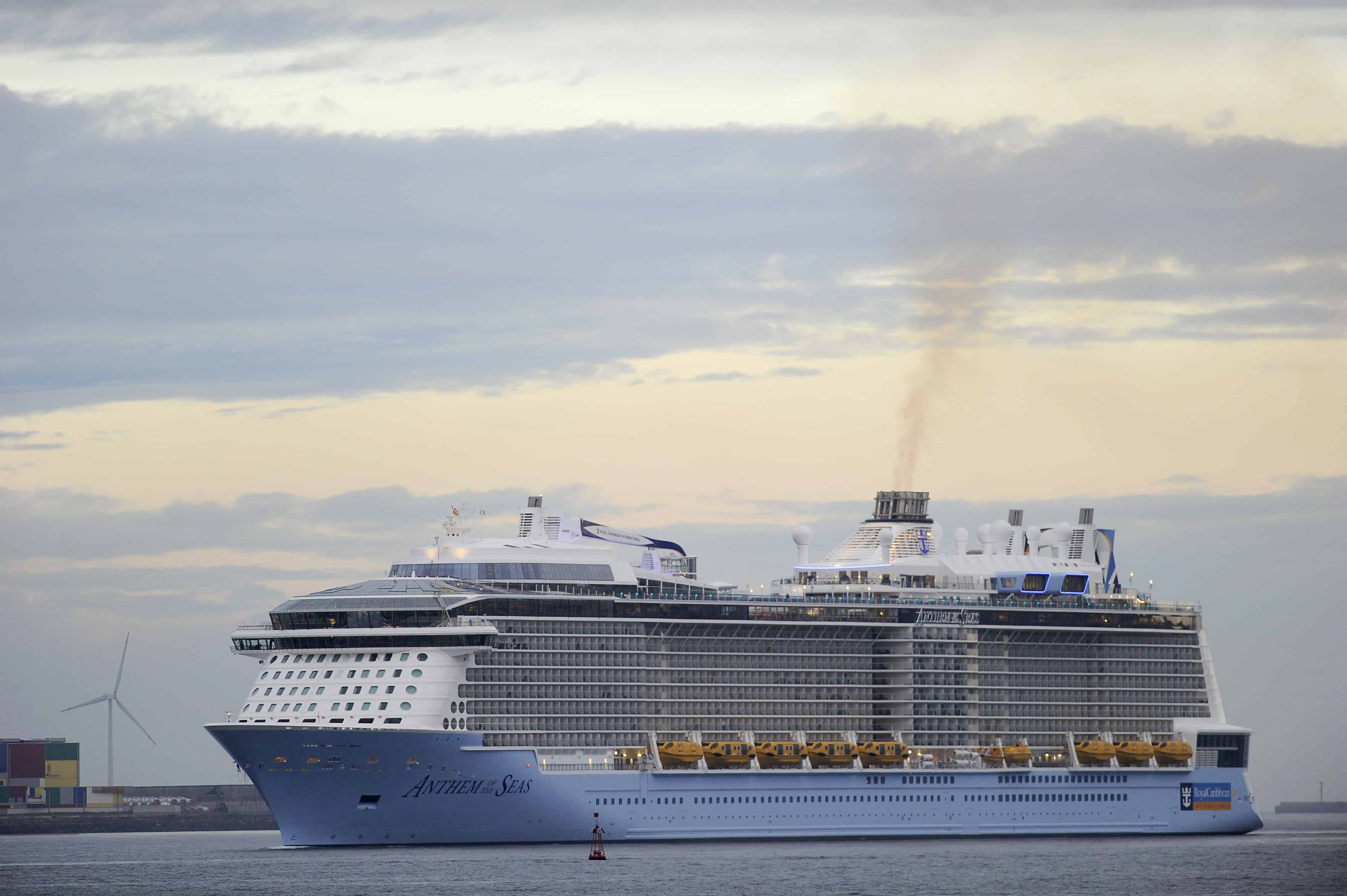 Royal Caribbean's the Anthem of the Seas