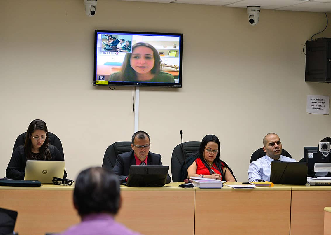 Almudena Amador testifies in Jairo Mora murder trial