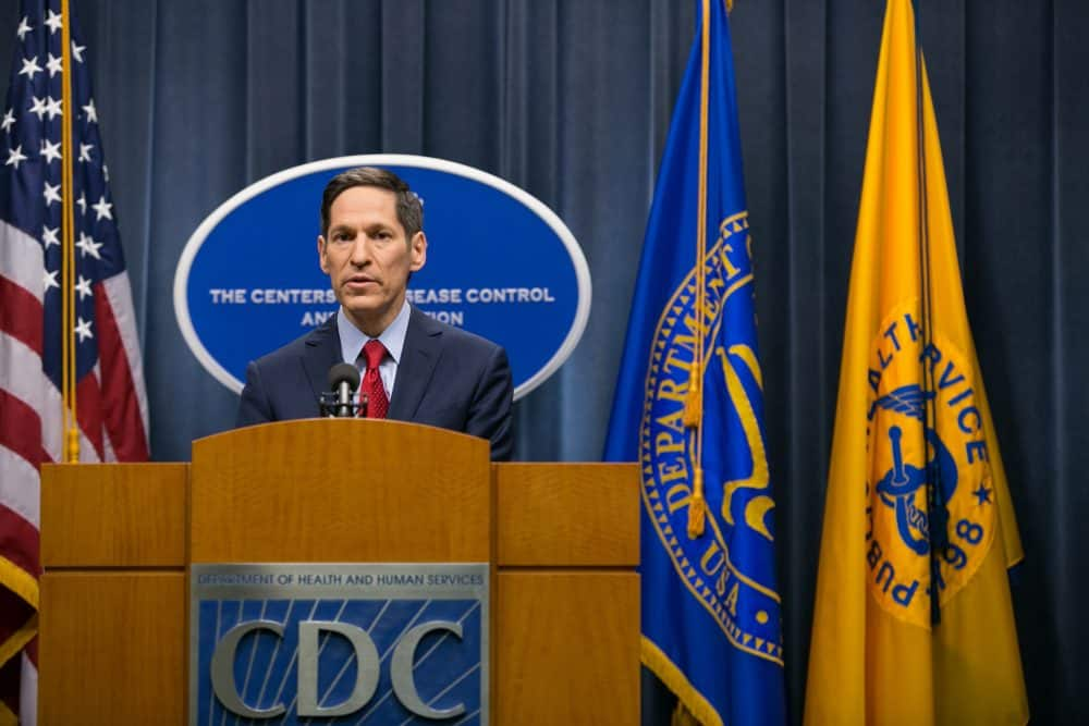 Center for Disease Control (CDC) head Thomas Frieden