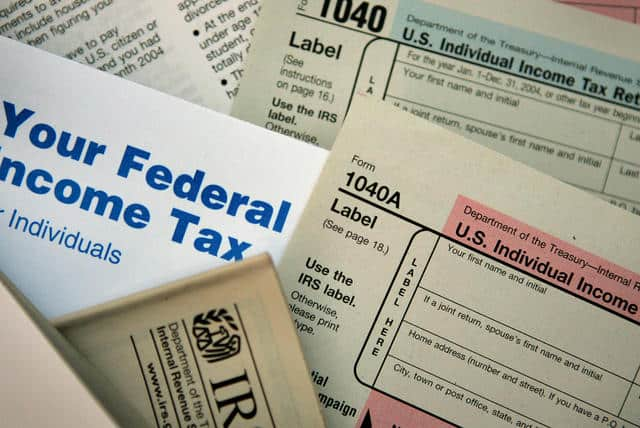 IRS FATCA tax forms
