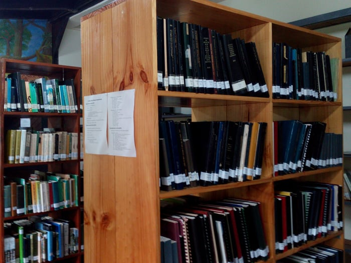 Library at La Selva.