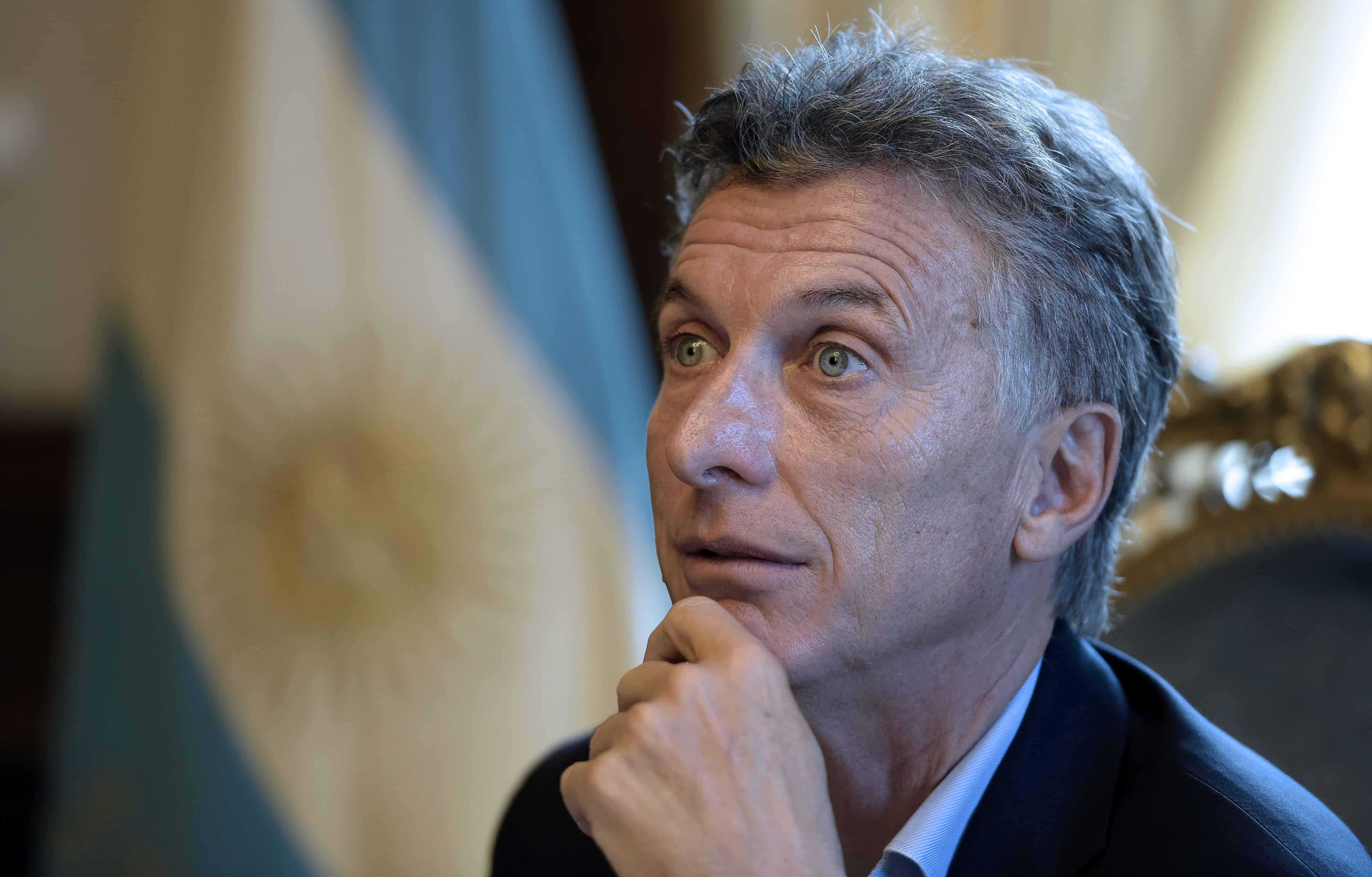 Argentina President Mauricio Macri |Argentina debt