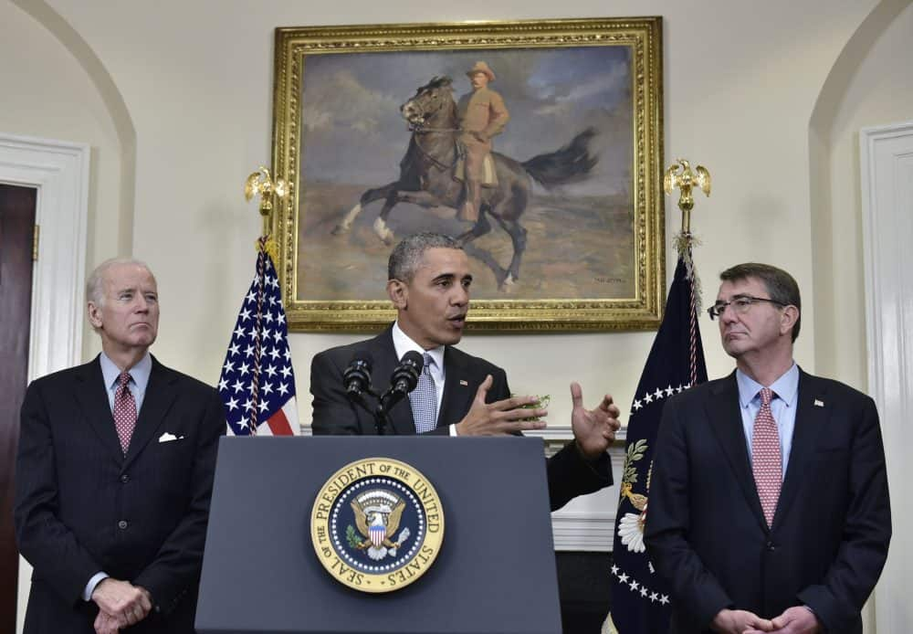Obama speaking on Guantanamo prison