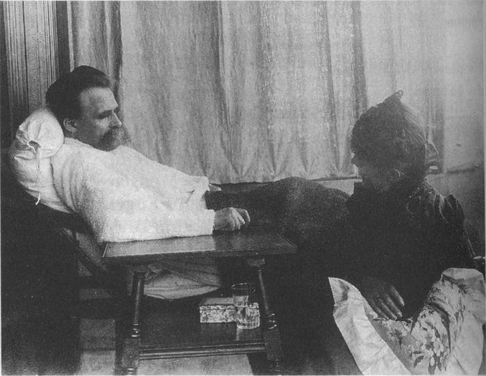 Friedrich Nietzsche in 1899