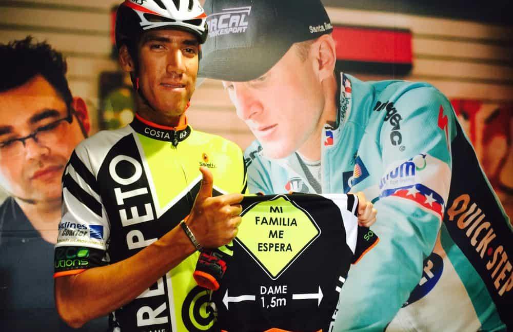 Tico cyclist Paolo Montoya