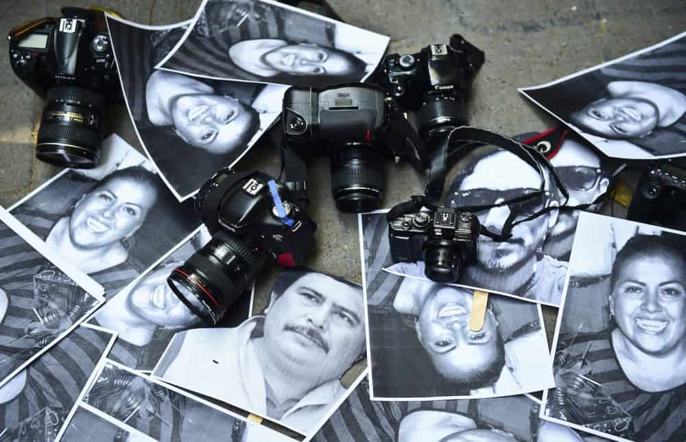 photos of Mexican journalists killed