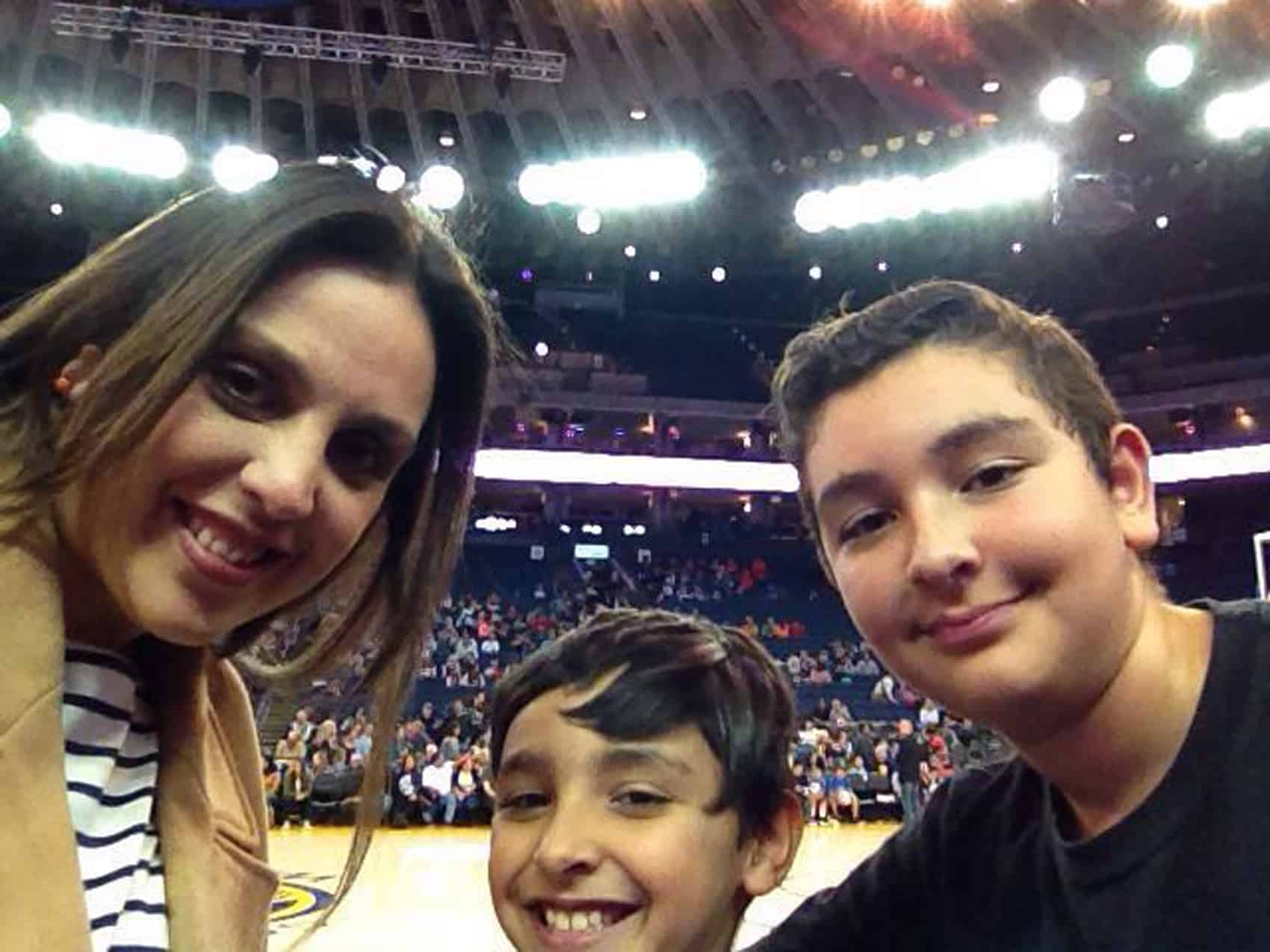 Barbara Calderón photographed with her two sons | Costa Rica tragedy