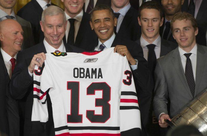 NHL, Barack Obama and the Chicago Blackhawks