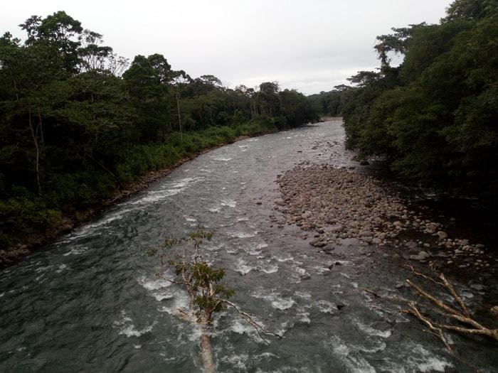 Río Sarapiquí.
