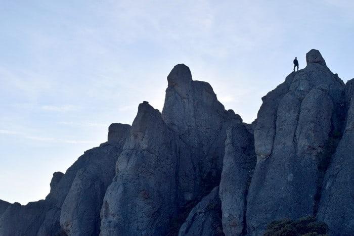 Crestones rock formation