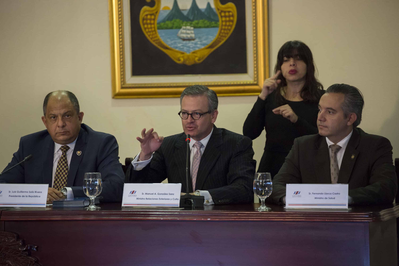 Costa Rica Foreign Minister Manuel González