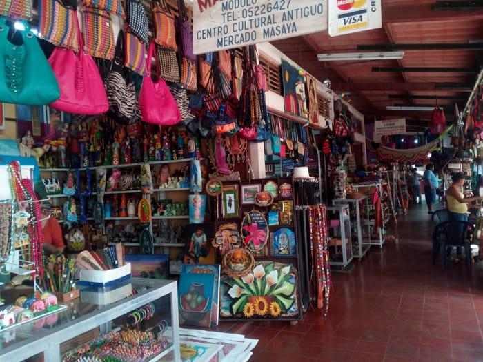 Mercado in Masaya.