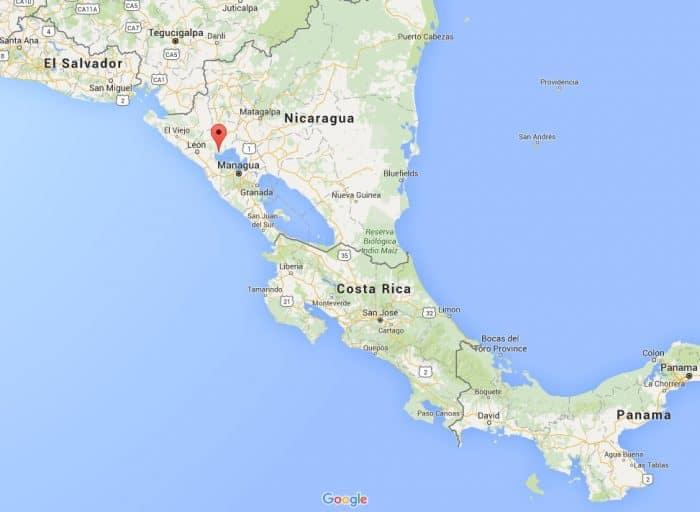 Momotombo Map
