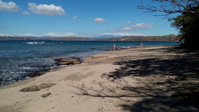 Beach near the Occidental Grand Papagayo.