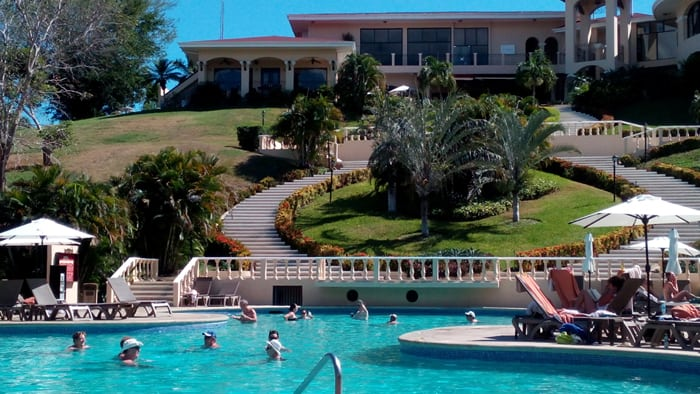 Occidental Grand Papagayo pool.