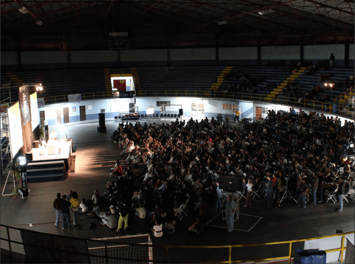 The FID's first edition at the National Gymnasium on March 2011.