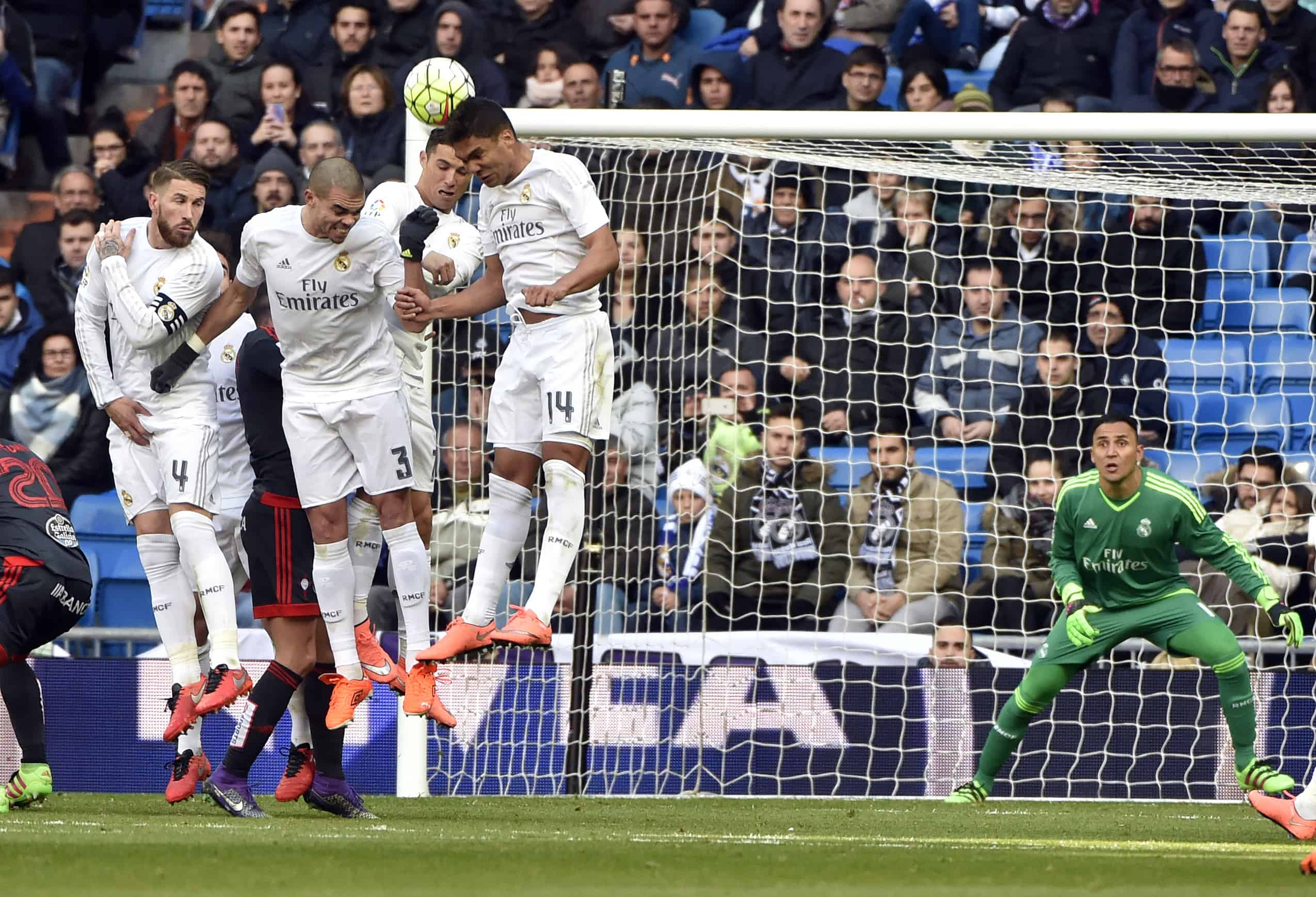 Keylor Navas penalty kick save