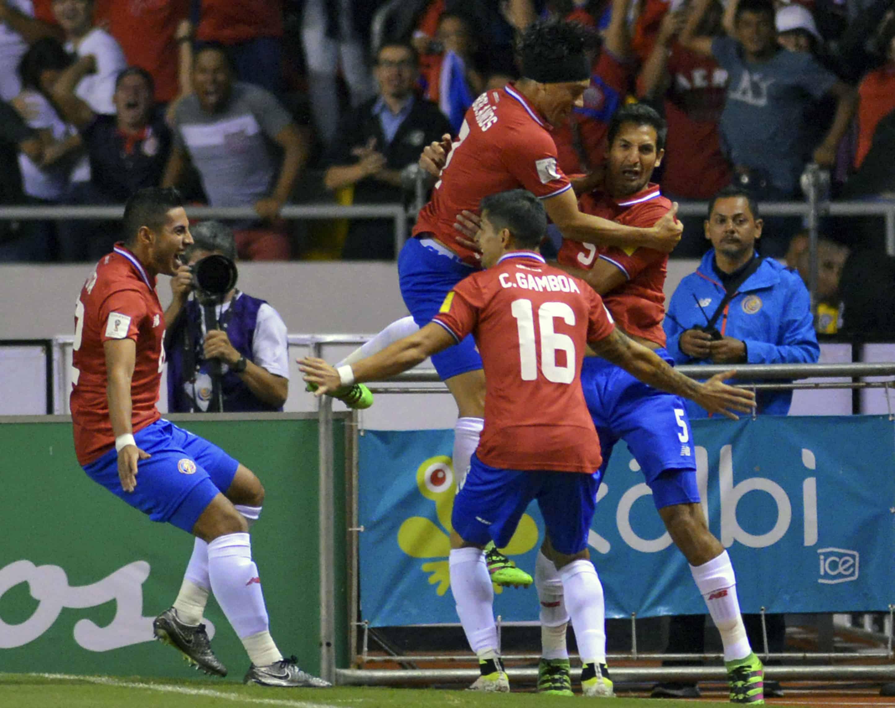 Costa Rica La Sele win Jamaica