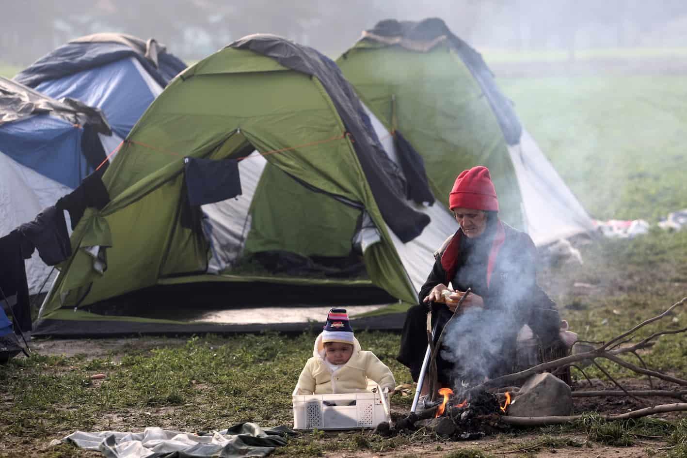 migrants Greek border
