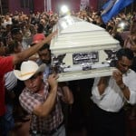 Protests erupt at memorial for slain Honduran activist