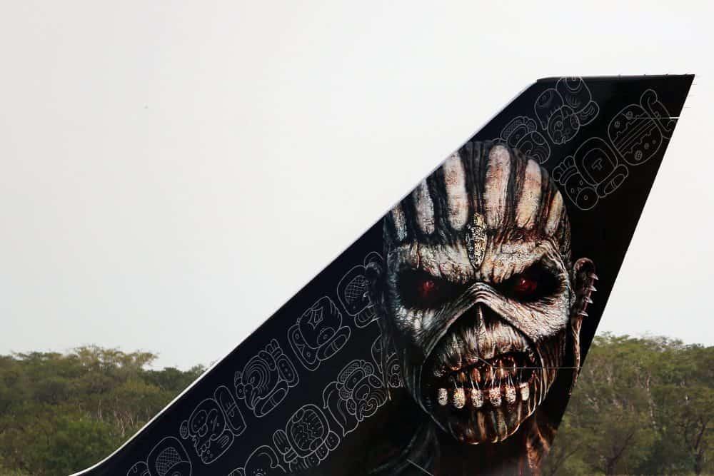 Iron Maiden plane tail