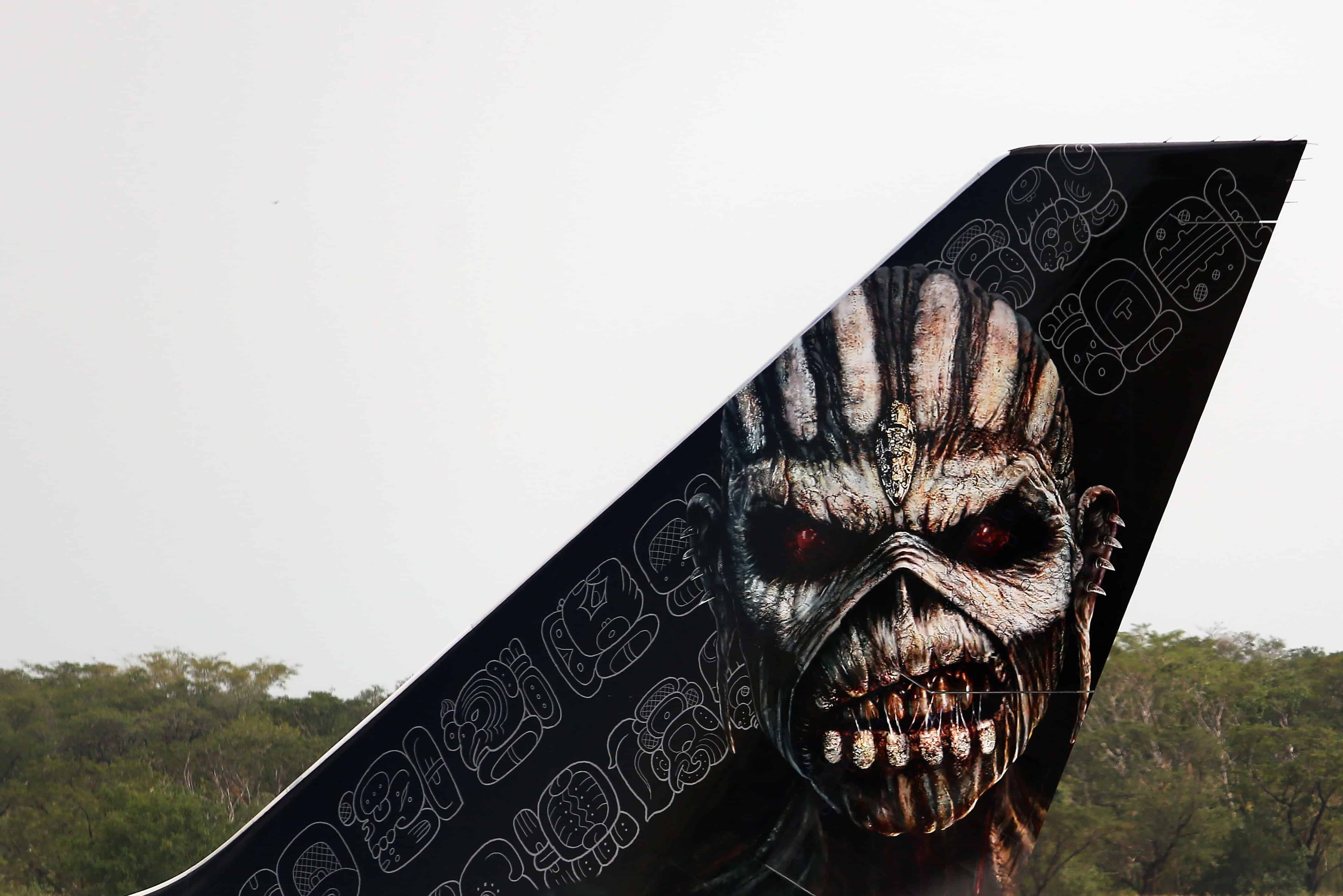 Iron Maiden plane tail