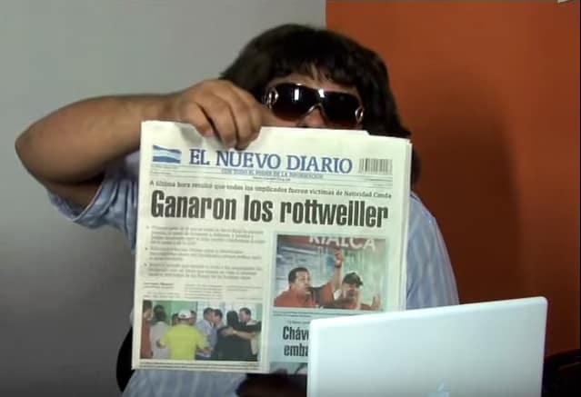 Nicaragua comedian Reynaldo Ruiz