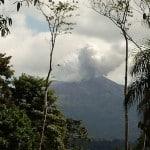 Costa Rica's Rincón de la Vieja Volcano explodes vapor and ash