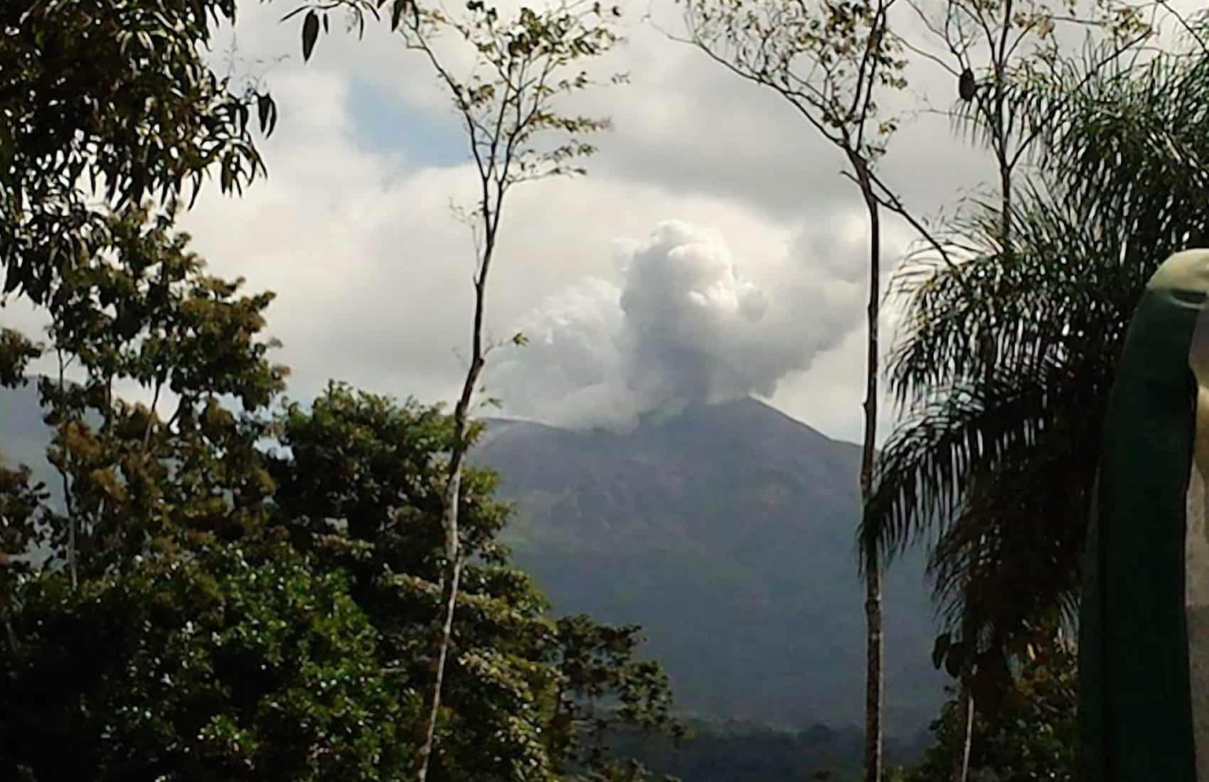 Rincón de la Vieja volcano, March 10, 2016.