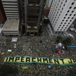 'Historic' crowds protest against Brazil President Dilma Rousseff