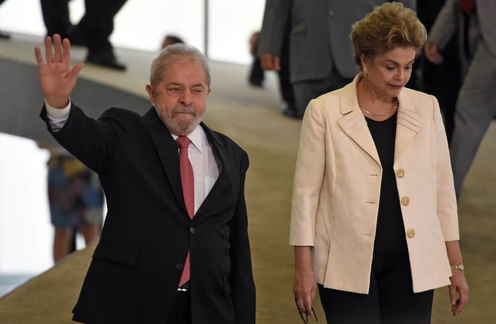 Lula and Dilma Rousseff, Brazil
