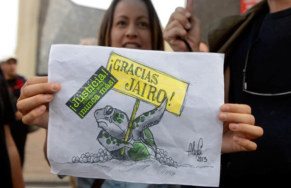 Jairo Mora poster