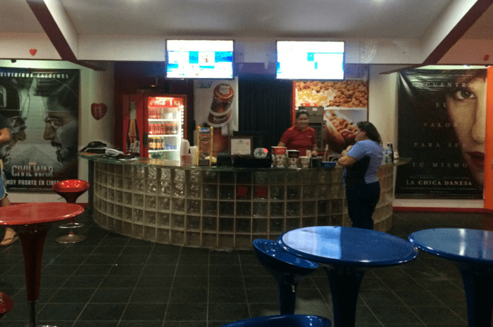 Concessions at Beach Cinema Hermosa.
