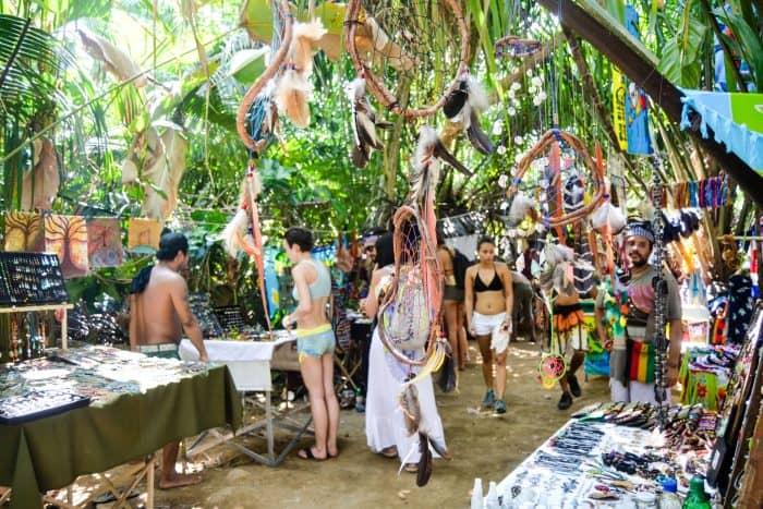 Vendors at Envision Festival