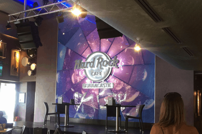 Stage at Hard Rock Cafe Guanacaste.