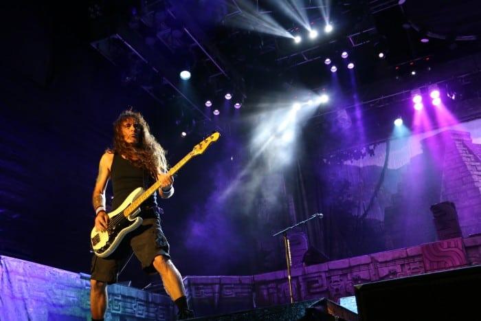 Iron Maiden concert