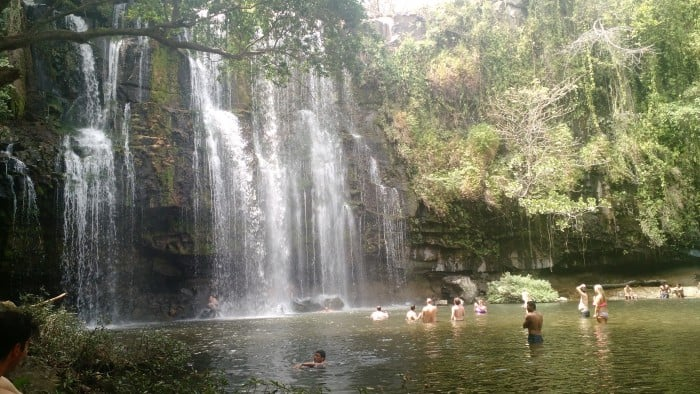 Llanos del Cortes Waterfall