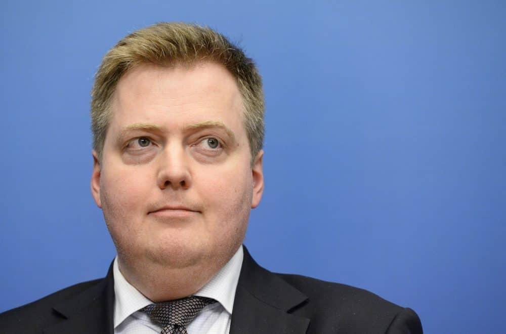 Sigmundur David Gunnlaugsson; Panama Papers