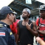 Cuban migrants storm Costa Rica-Panama border demanding to pass