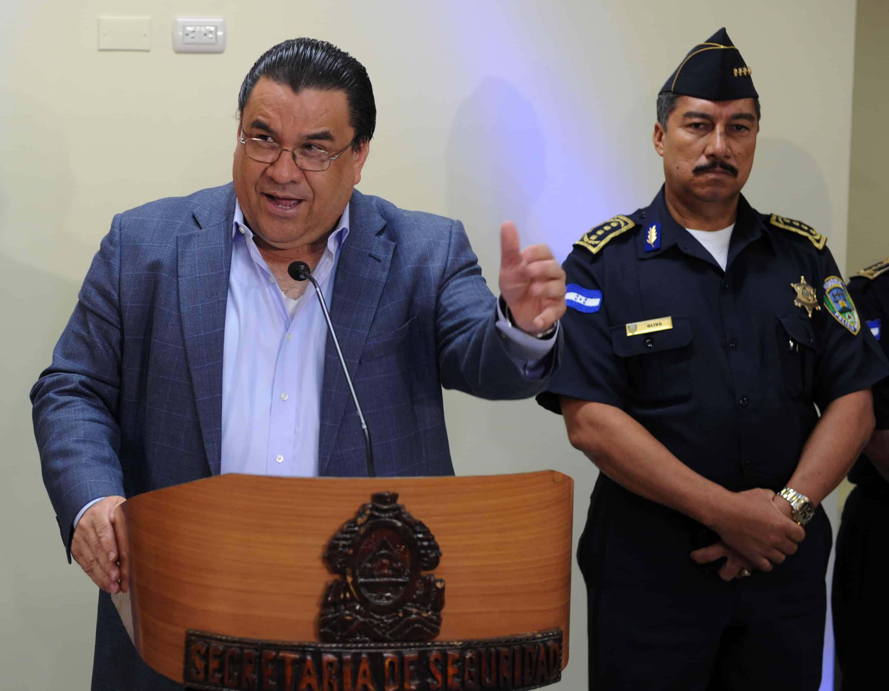 former Honduras Security Minister Arturo Corrales
