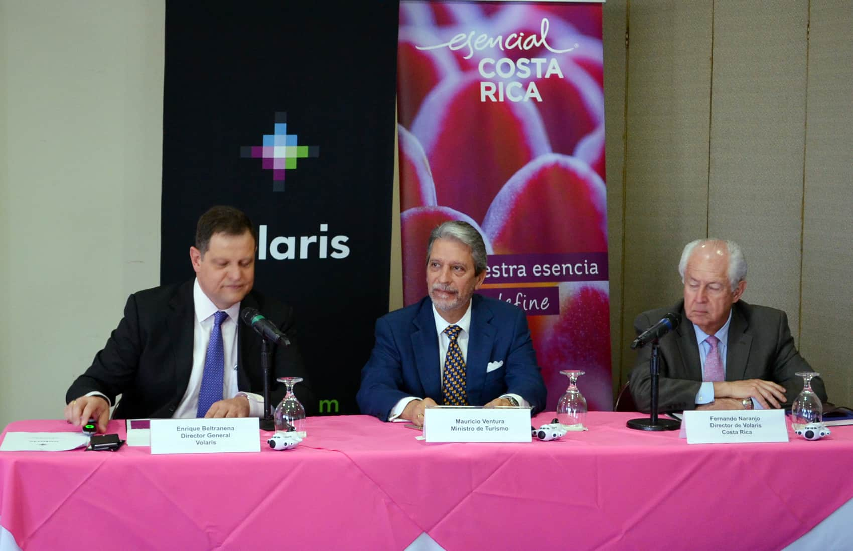 Volaris launch operations in Costa Rica. May 24, 2015.