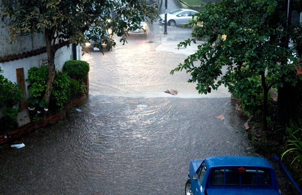 Flooding in San José