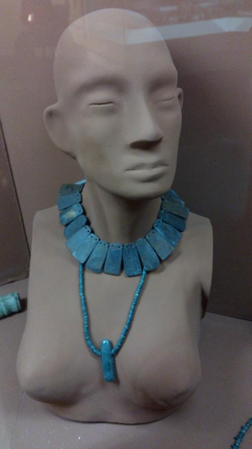 Jade jewelry.