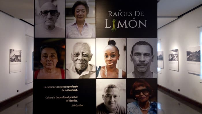 """Roots of Lim—ón"" exhibit."