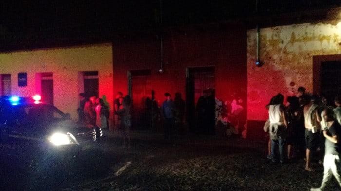 Antigua partying