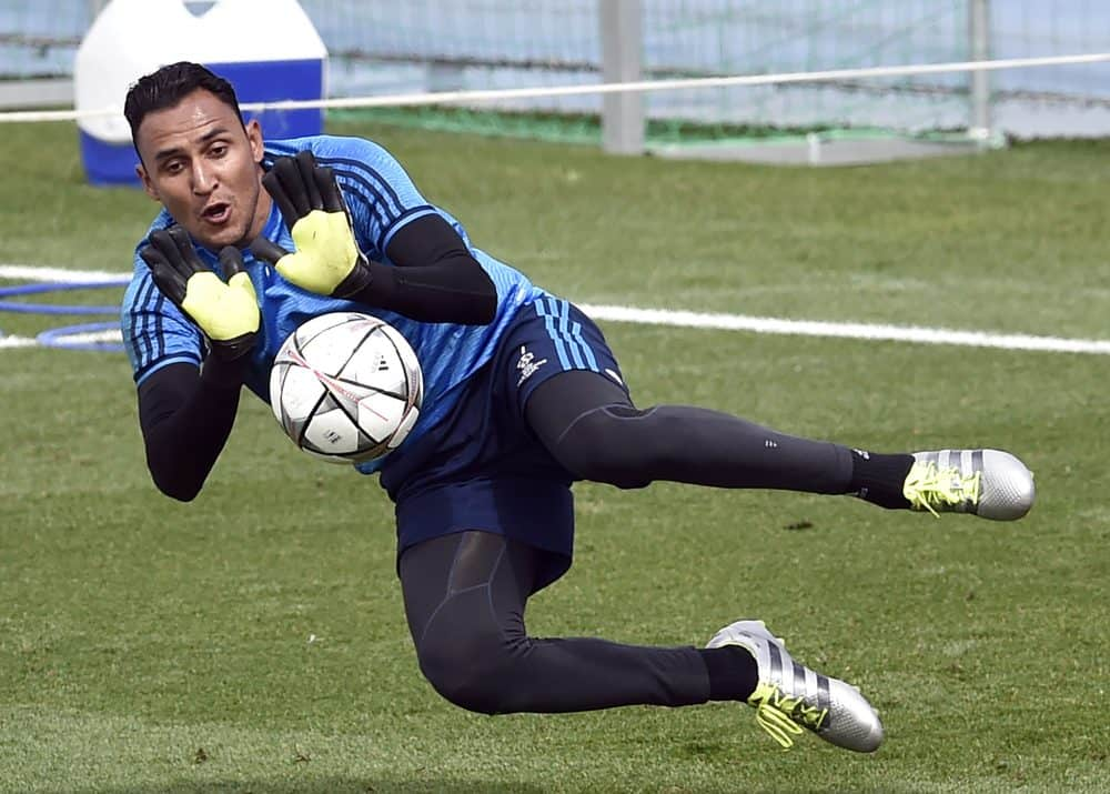 Keylor Navas injury